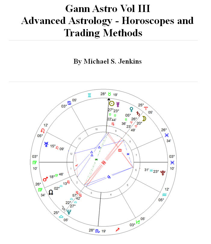 Stock Trading Using Planetary Cycles- The Gann Methods Volumes I-III